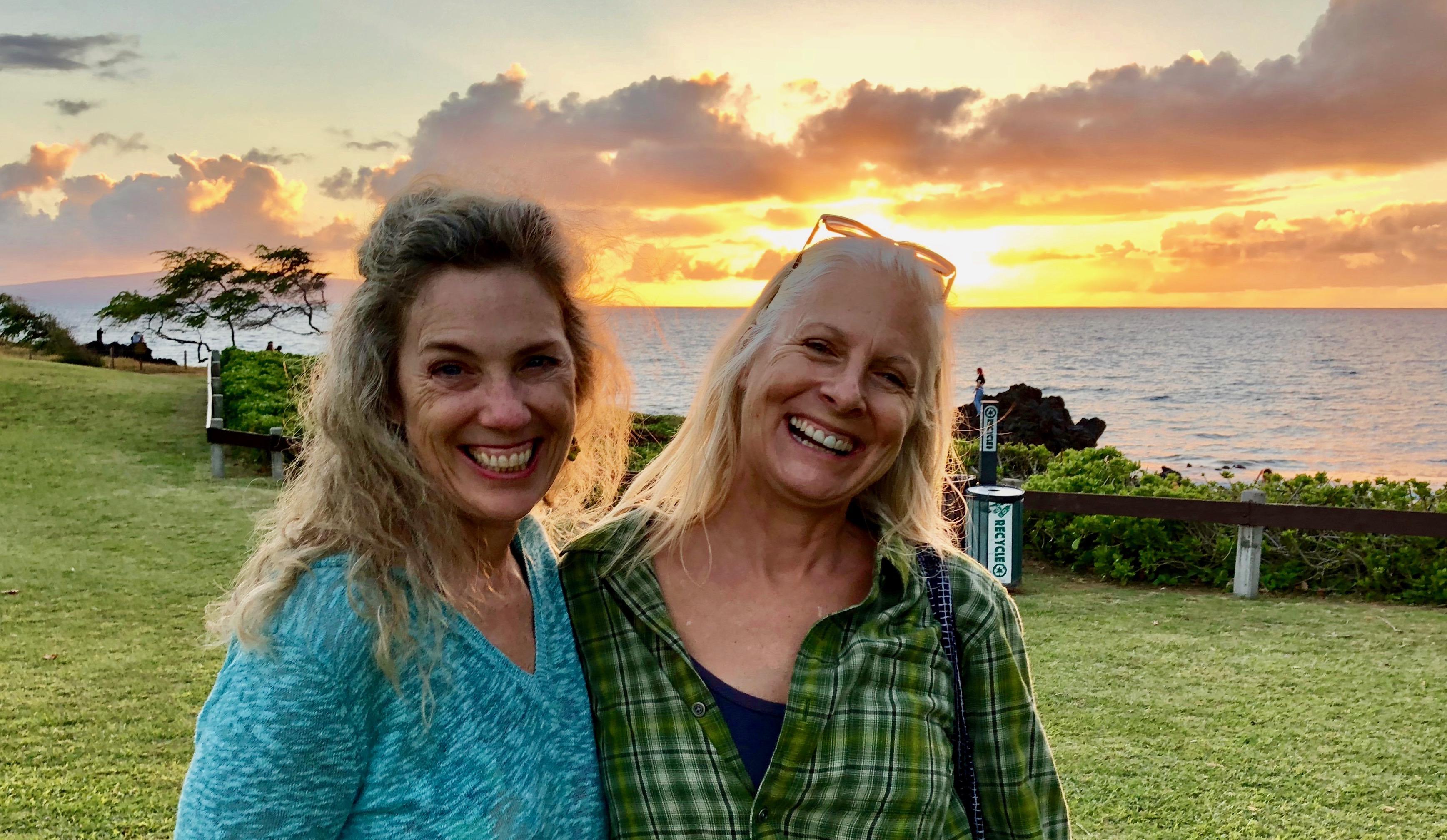 Tamara and Me in Hawaii.04 2